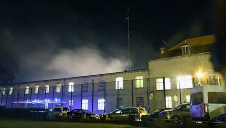 Begin deze maand braken rellen uit in de gevangenis van Merksplas.