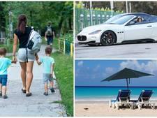 Dik salaris en rondrijden in Maserati's: Brits gezin zoekt supernanny