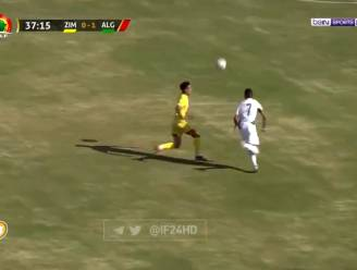 Fabelachtige goal: Riyad Mahrez niet gehinderd door slecht veld om Algerije naar Africa Cup te trappen