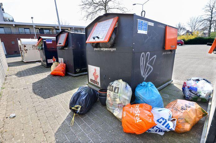 Bijzetafval in Eindhoven is en blijft een groot probleem.