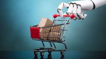 Walmart experimenteert met gerobotiseerde winkelkar