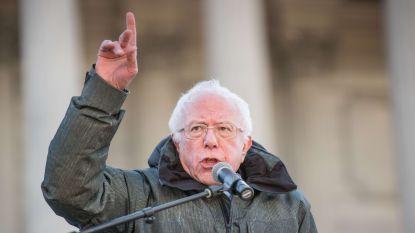 """""""Bernie Sanders neemt campagnevideo op"""""""