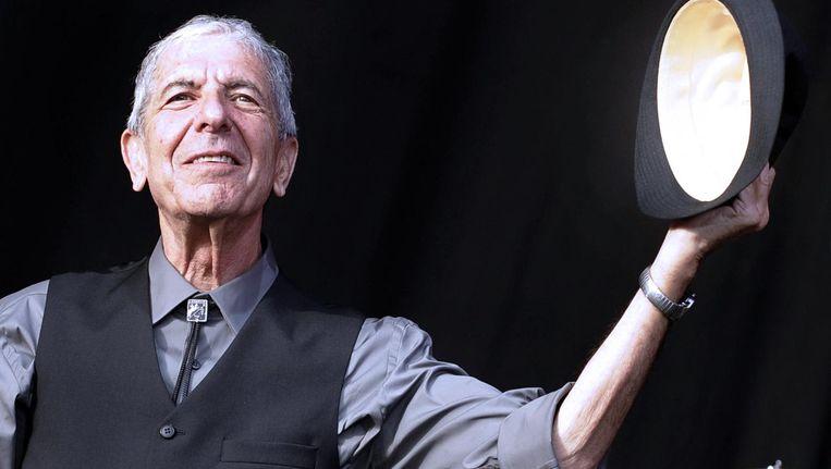 Leonard Cohen in 2008. Beeld afp