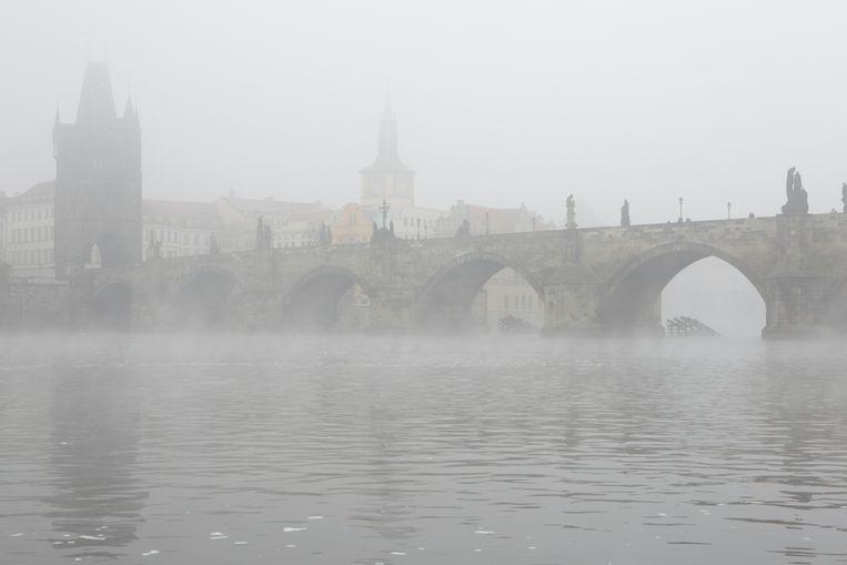 De Karelsbrug in Praag.