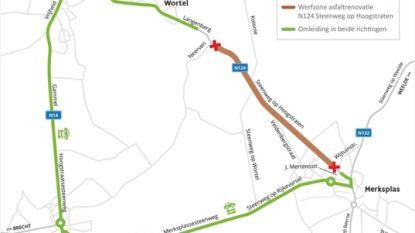 Steenweg op Hoogstraten en Langenberg tien dagen afgesloten door wegenwerken