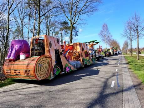 Man raakt gewond na val van carnavalswagen in Casteren