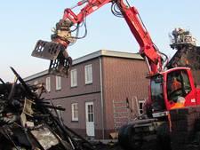 Twee hennepkwekerijen gevonden in afgebrande woning Velddriel; man  aangehouden