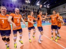 Volleyballers verliezen eerste oefeninterland in Brazilië