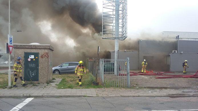 De brand in Arnhem