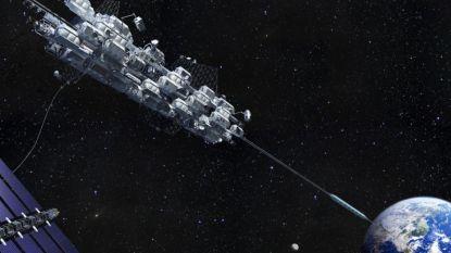 Kolossale lift naar de ruimte kan er sneller komen dan verwacht: ISS doet voor het eerst experiment