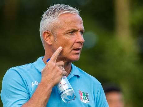 NEC-trainer De Gier wil strijdlustig NEC zien tegen Cambuur