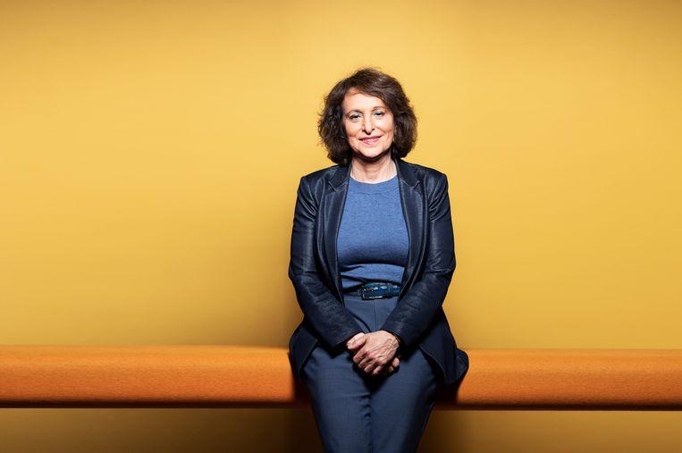 Shula Rijxman is sinds 2016 bestuursvoorzitter van de stichting Nederlandse Publieke Omroep. Beeld Martijn Gijsbertsen