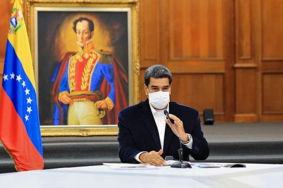 De Venezolaanse president Nicolás Maduro. (04/05/2020)