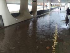 Wolkbreuk leidt tot plaatselijke wateroverlast