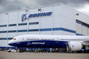 De fabriek waar Boeing zijn Dreamliner produceert in het Amerikaanse North Charleston.