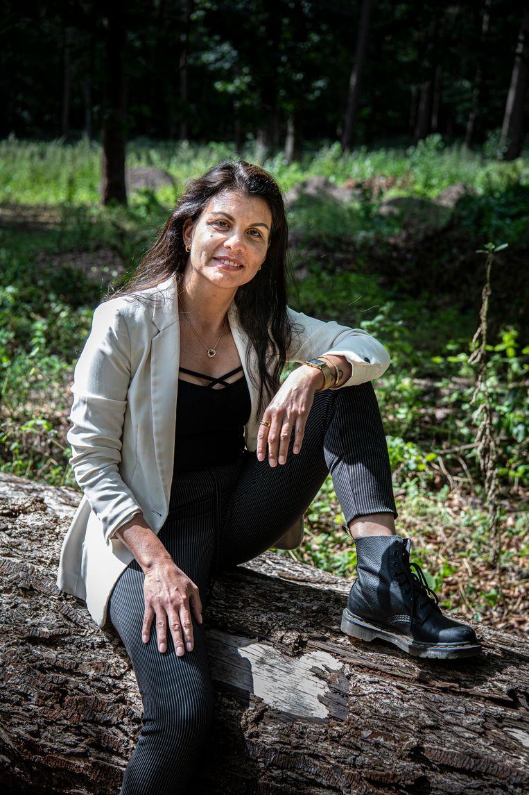 Philomenia Arissen: 'Ik ging wel bij hem weg, maar keerde telkens terug. Mijn omgeving zag dat als verzoening, maar dat was niet'. Beeld Koen Verheijden