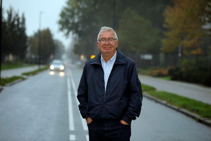 Huib Blokland, voorzitter van de Maassluise Sport- en Recreatieraad (MSR).