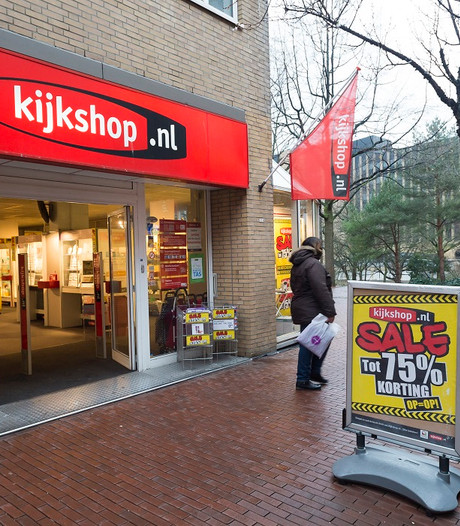 Kijkshop dicht; personeel in Roosendaal, Bergen op Zoom, Breda en Oosterhout op straat