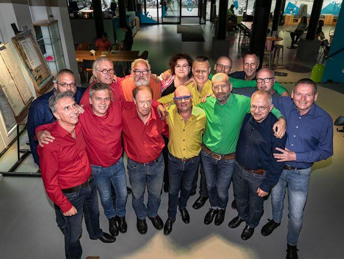 Gay-mannenkoor Mannenakkoord uit Eindhoven.