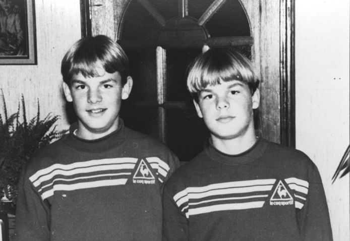 Ronald en Frank (rechts) de Boer.