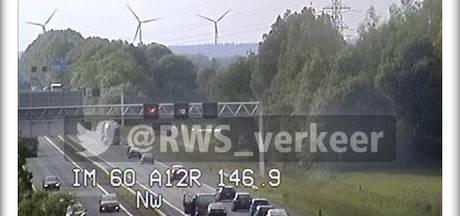 A12 naar Arnhem weer open na ongeval