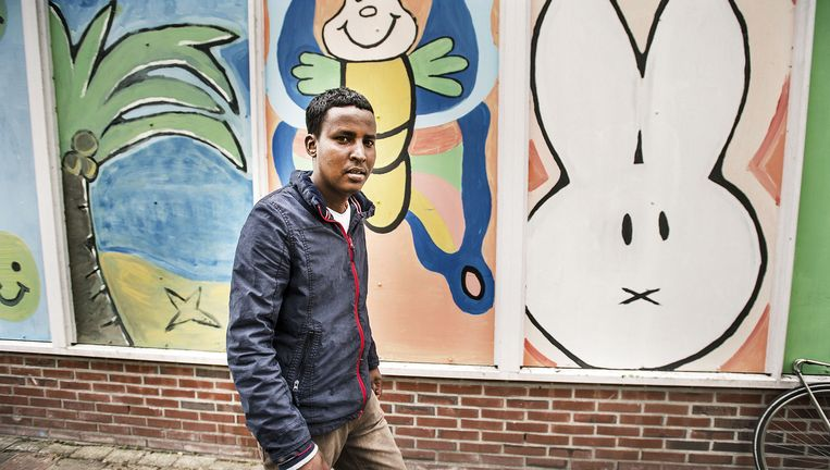 Abdi Fatah uit Somalië. Beeld Guus Dubbelman