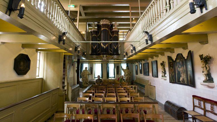Interieur van museum Ons' Lieve Heer op Solder in Amsterdam. © ANP Beeld