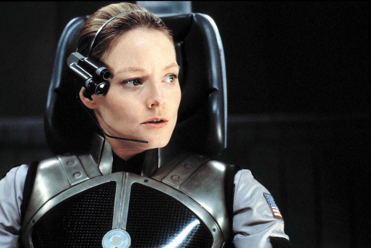 'Contact' USA-1997  Robert Zemeckis caption: Jodie Foster Ingavedatum: 10/08/2010 Beeld SBS BELGIUM