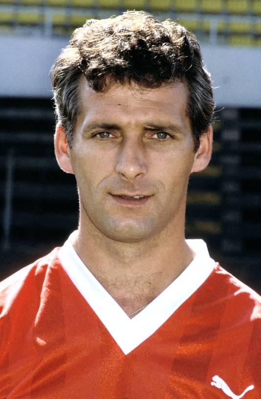 Dick Nanninga in 1984 als speler van MVV.
