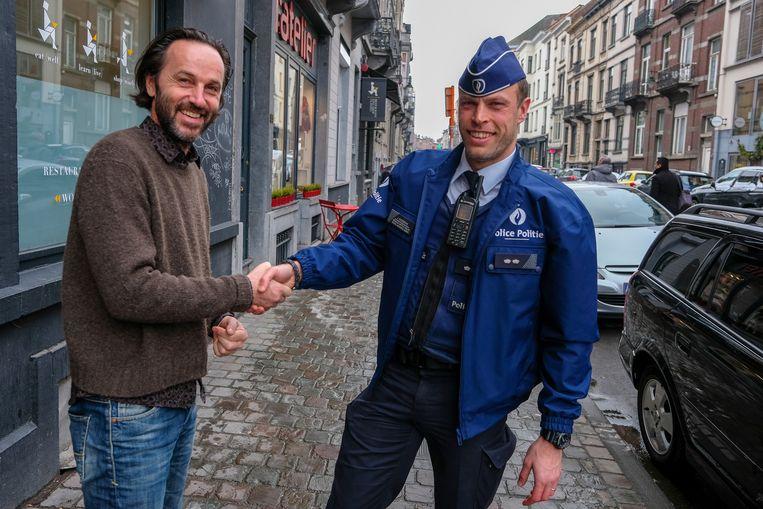 Buurtregisseur: Julien Goudezeune gaat langs bij de handelaars in de buurt.