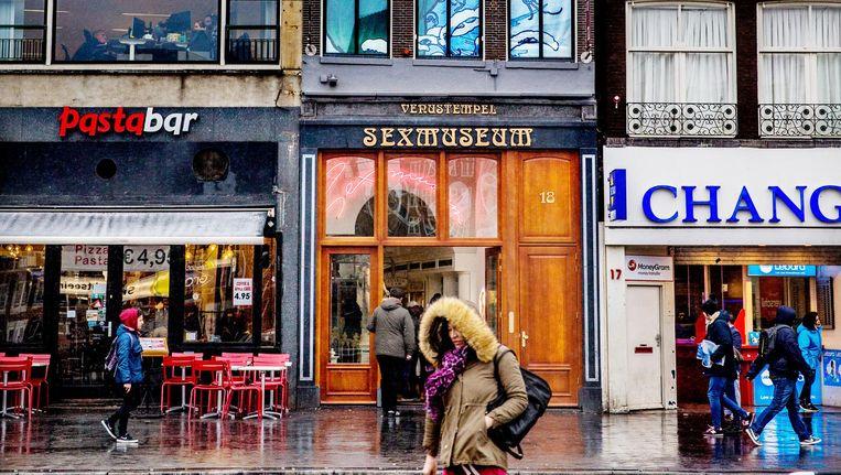 Onder het verbod vallen ook nieuwe musea over drugs, erotiek, bier, kaas of stroopwafels Beeld Jean-Pierre Jans