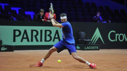 Franse kapitein Yannick Noah kiest voor Chardy en Tsonga in enkelpartijen van finale Davis Cup