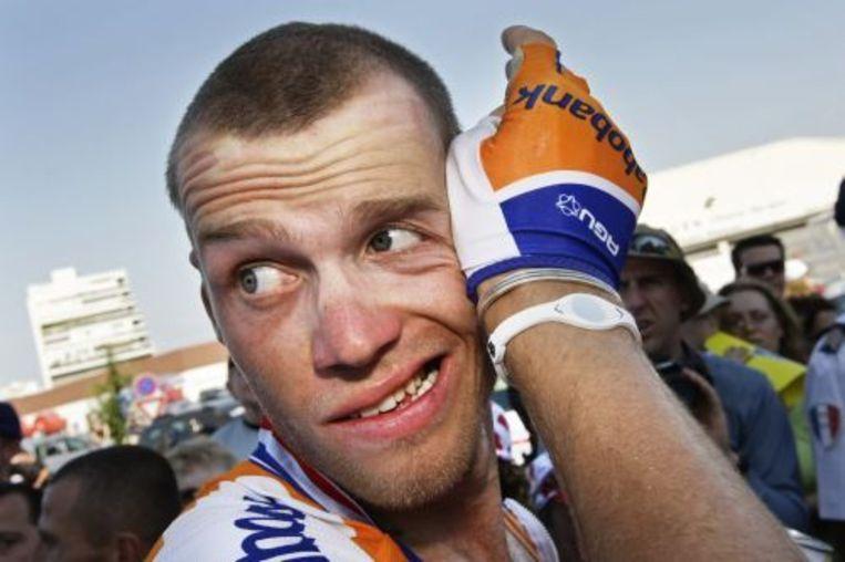 Lars Boom is een van de wielrenners die aan de start zal verschijnen. ANP Beeld