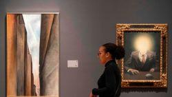 Schilderij van Magritte voor recordbedrag verkocht in New York