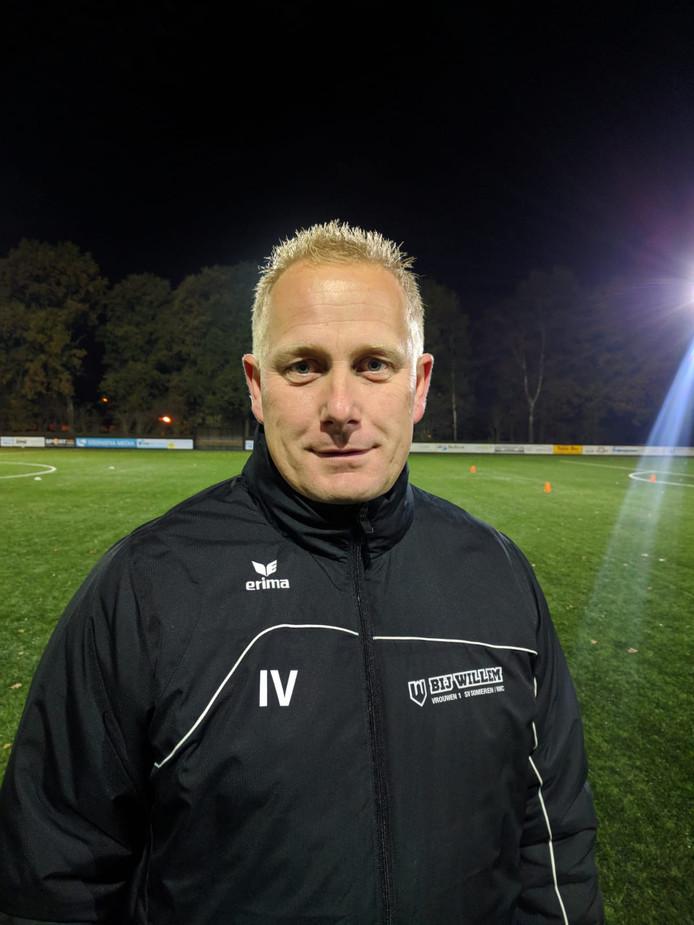 Ivo Veltrop de trainer SV Someren/NWC zag zijn team vandaag drie punten pakken