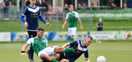 Spits Yannick Bouw weet de ban nog niet te breken bij VVOG, Harderwijkers onderuit met 1-0