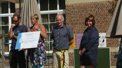 Cheque van 1.350 euro voor 'propere' basisschool Prinsenhof