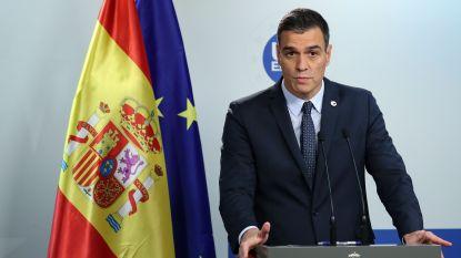 """Sanchez wijst gesprekken met Catalaanse regering af: """"Eerst veroordeling geweld Barcelona"""""""
