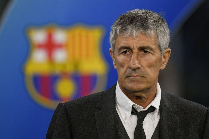 Quique Setién werd ontslagen na de 8-2 nederlaag van FC Barcelona tegen Bayern Munchen in de kwartfinale van de Champions League.