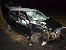 Afgeleid door mobieltje: vrouw (18) crasht tegen boom langs N315 bij Vorden