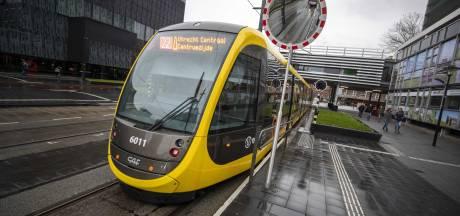 Tijdelijk geen trams op Uithoflijn door defecte bovenleiding