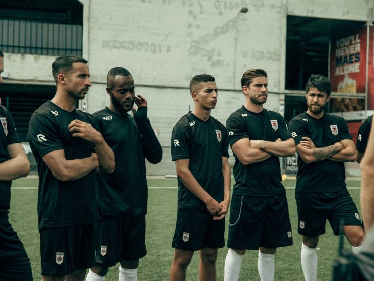 Pattinama maakt debuut op witte doek in voetbalfilm