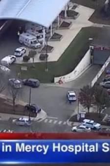 Schietpartij bij ziekenhuis Chicago; politie schakelt schutter uit