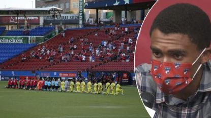 "Boegeroep van 'onwetende' fans tijdens knielmoment in Amerikaanse voetbalwedstrijd: ""Absoluut walgelijk"""