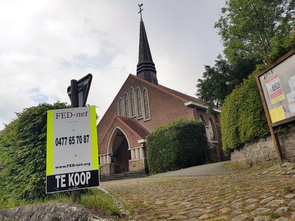 Het parochiekerkje van het gehucht Ten Broek in Sint-Genesius-Rode wordt te koop gezet.