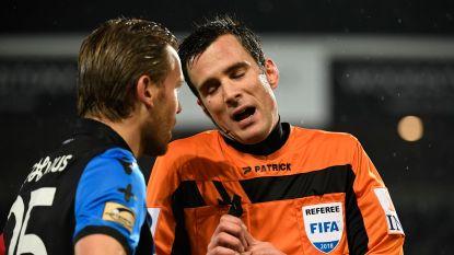 Club baalt in Kortrijk: blauw-zwart kan opnieuw niet winnen in week met Europees voetbal, goal van Dennis werd na rust afgekeurd na tussenkomst van de VAR