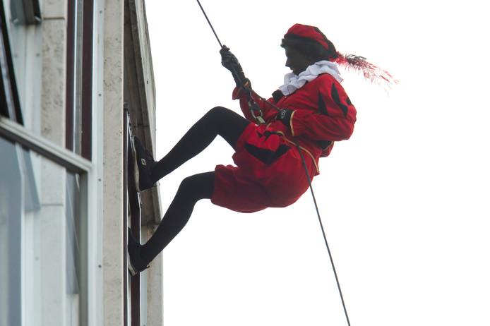 Intocht Sinterklaas in Nijmegen.