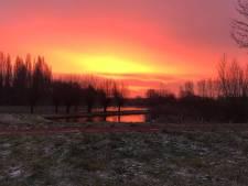 7 x genieten van een schitterende roze lucht in Woerden
