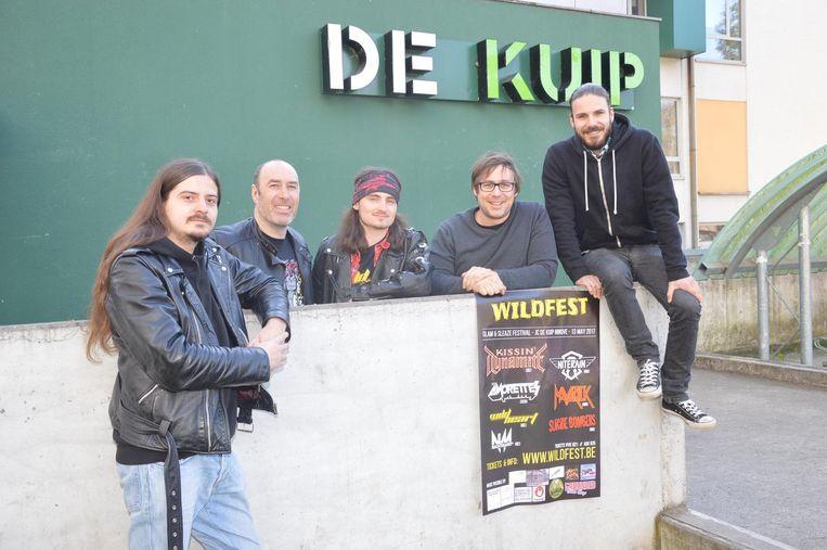 De organisatoren van WildFest aan De Kuip.