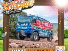 Ook Dakar-trucks maken hun opwachting tijdens 24 uurs Solexrace in Heeswijk, voor Kika